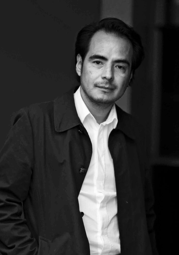 Portrait of Fashion Designer Javier Reyes
