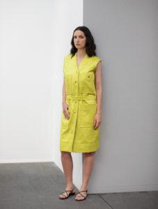 lemon dress im Kunstmuseum Bern