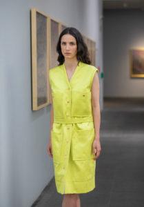 lemon dress by Javier Reyes