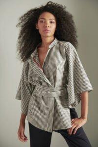 kimono in coolwool